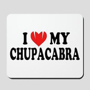 I love my chupacabra Mousepad