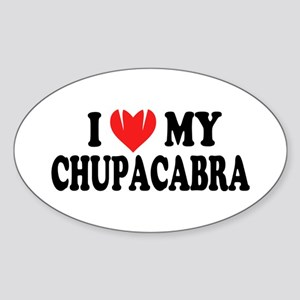I love my chupacabra Sticker