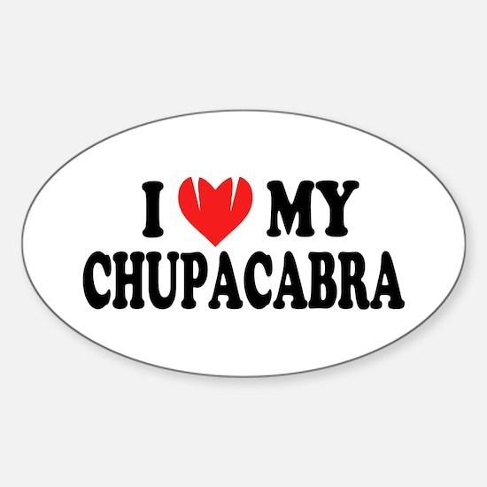 I love my chupacabra Decal