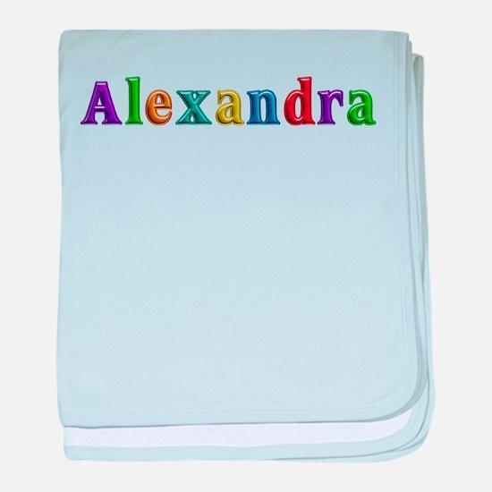 Alexandra Shiny Colors baby blanket