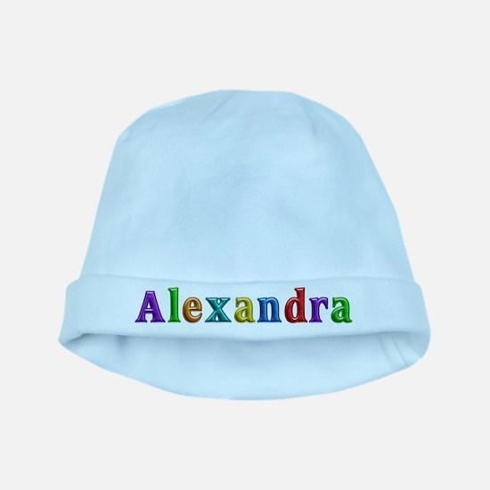 Alexandra Shiny Colors baby hat