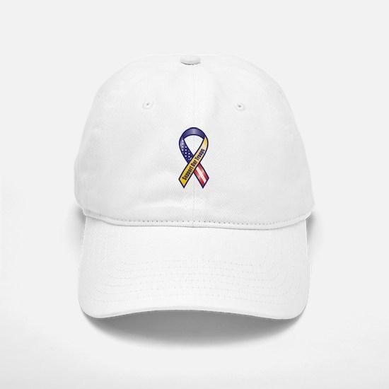 Support Our Troops - Ribbon Baseball Baseball Baseball Cap