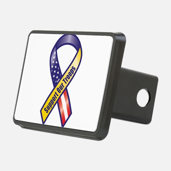 Support Our Troops - Ribbon Hitch Cover