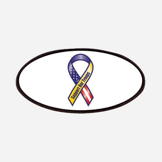 Support Our Troops - Ribbon Patches