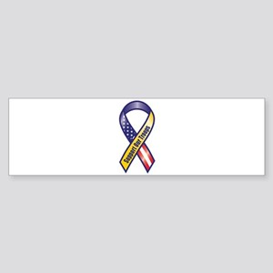 Support Our Troops - Ribbon Bumper Sticker