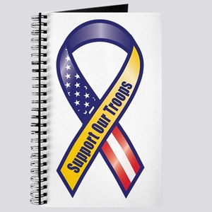 Support Our Troops - Ribbon Journal
