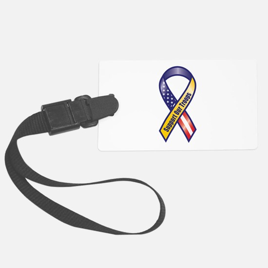 Support Our Troops - Ribbon Luggage Tag