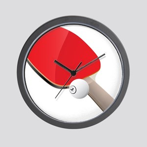 Table Tennis - Ping Pong Wall Clock