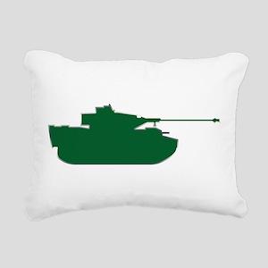 Tank - Army - Military Rectangular Canvas Pillow