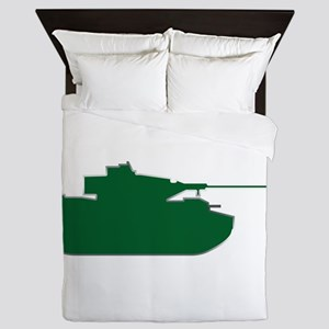 Tank - Army - Military Queen Duvet
