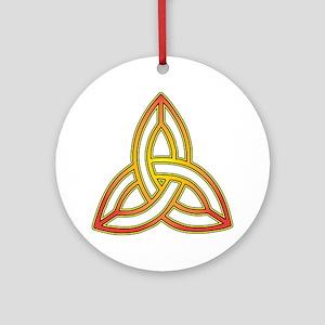 Triquetra - Trefoil Knot Ornament (Round)