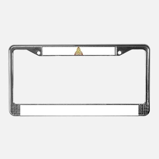 Triquetra - Trefoil Knot License Plate Frame