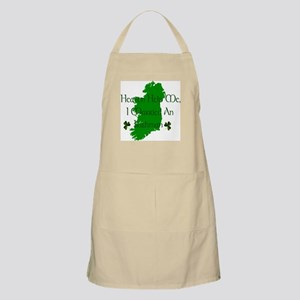 I Married An Irishman Apron