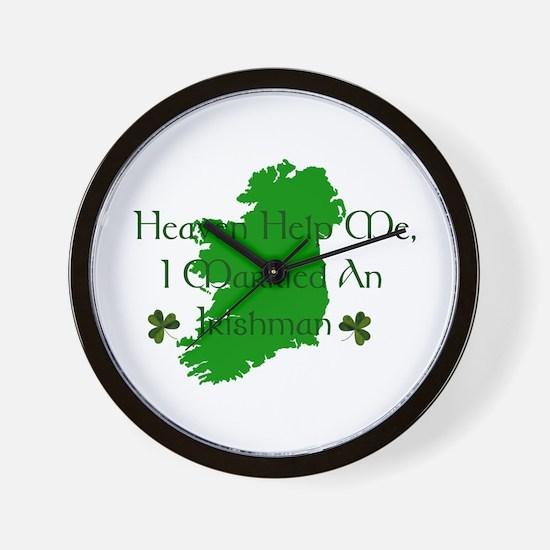 I Married An Irishman Wall Clock