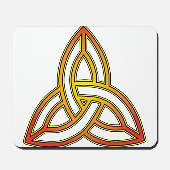 Triquetra - Trefoil Knot Mousepad