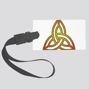 Triquetra - Trefoil Knot Luggage Tag