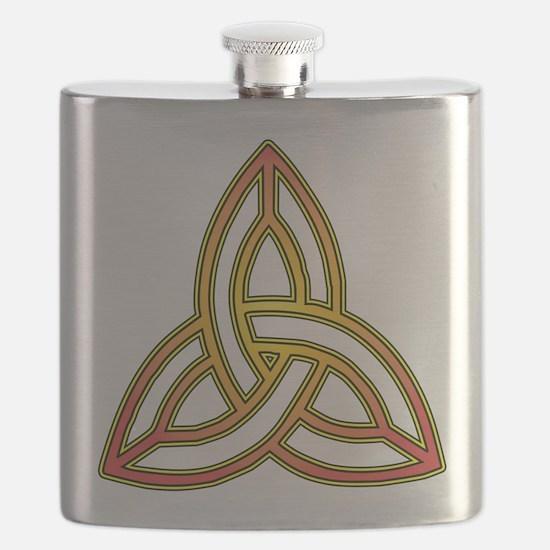 Triquetra - Trefoil Knot Flask
