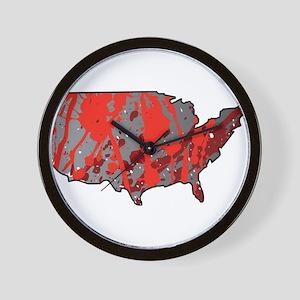 USA - United States Wall Clock