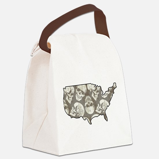 USA - United States Canvas Lunch Bag