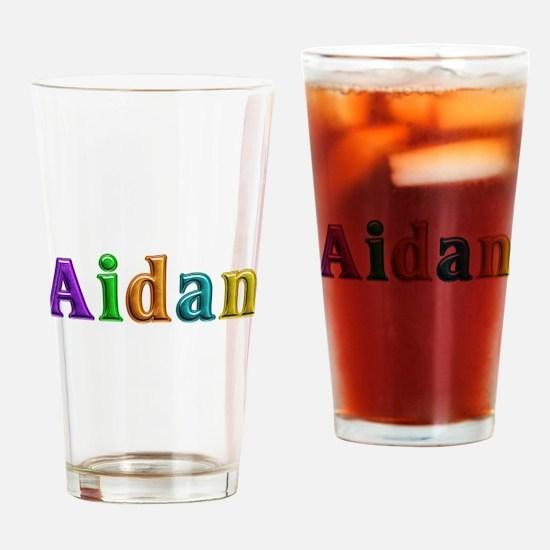 Aidan Shiny Colors Drinking Glass