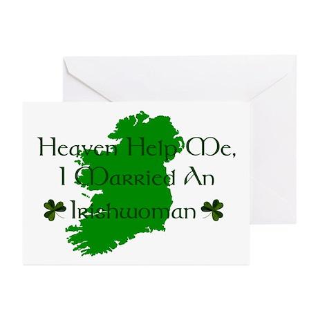 I Married An Irishwoman Cards (Pk of 10)