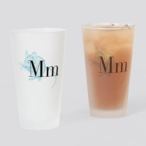 M is for Mouse Drinking Glass