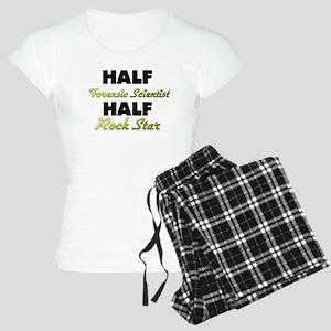 Half Forensic Scientist Half Rock Star Pajamas