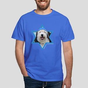Hanukkah Star of David - Sheepdog Dark T-Shirt