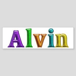 Alvin Shiny Colors Bumper Sticker