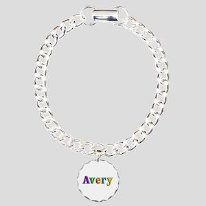 Avery Shiny Colors Charm Bracelet