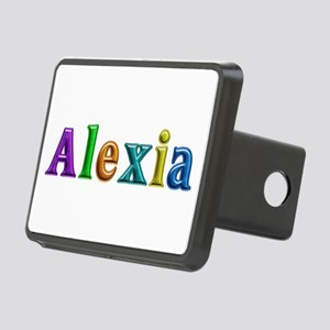 Alexia Shiny Colors Rectangular Hitch Cover