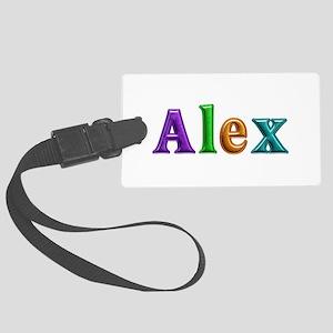 Alex Shiny Colors Large Luggage Tag