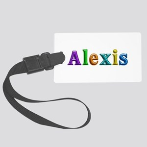 Alexis Shiny Colors Large Luggage Tag