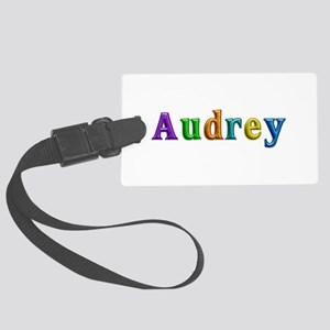 Audrey Shiny Colors Large Luggage Tag