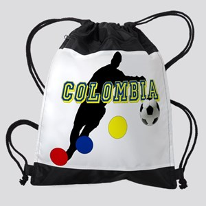 Columbia Soccer Player Drawstring Bag