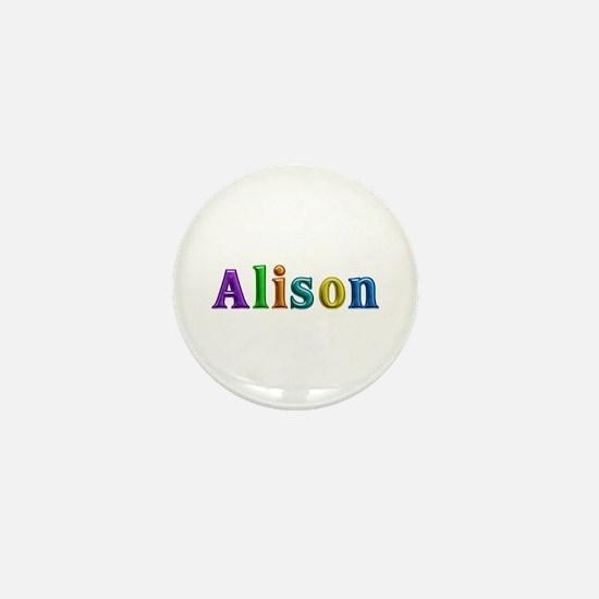 Alison Shiny Colors Mini Button