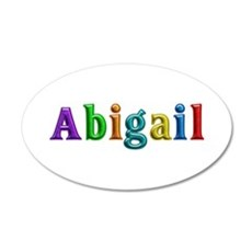 Abigail Shiny Colors Wall Decal