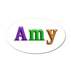 Amy Shiny Colors Wall Decal