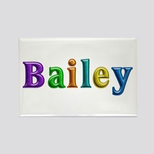 Bailey Shiny Colors Rectangle Magnet