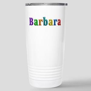 Barbara Shiny Colors Stainless Steel Travel Mug