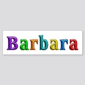 Barbara Shiny Colors Bumper Sticker
