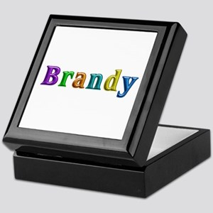 Brandy Shiny Colors Keepsake Box