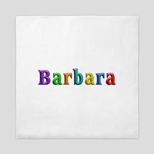 Barbara Shiny Colors Queen Duvet