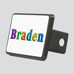Braden Shiny Colors Rectangular Hitch Cover