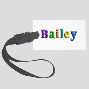 Bailey Shiny Colors Large Luggage Tag