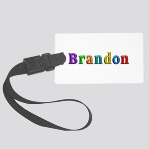 Brandon Shiny Colors Large Luggage Tag