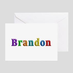 Brandon Shiny Colors Greeting Card