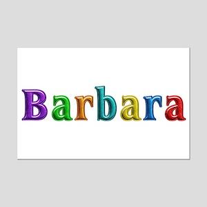 Barbara Shiny Colors Mini Poster Print