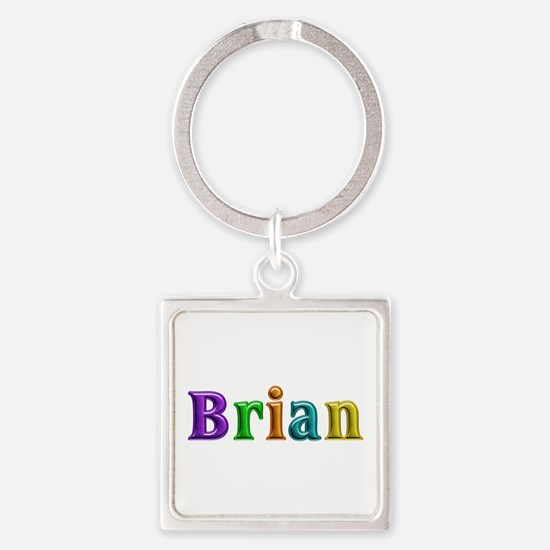 Brian Shiny Colors Square Keychain