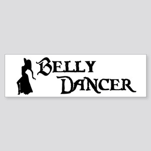 Belly Dancer Pose Bumper Sticker